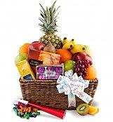 Fruit Gift Baskets: Happy Birthday Fruit Basket