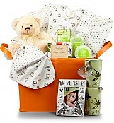Baby Gift Baskets: Proud Parents Deluxe Gift Set