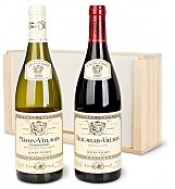 Wine Gift Crates: Classic French Duo