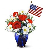 Flower Bouquets: American Glory Bouquet