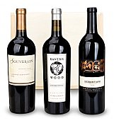 Wine Gift Crates: Signature Sonoma Wine Trio