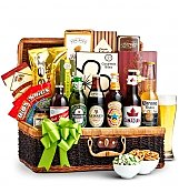 Wine Baskets: Craft Beer & Snacks Basket