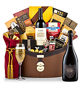 Champagne Baskets: Dom Perignon P2 1998 Windsor Luxury Gift Basket