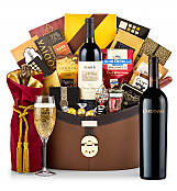 Champagne Baskets: Cardinale Cabernet Sauvignon 2012 Windsor Luxury Gift Basket