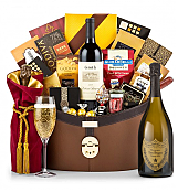 Champagne Baskets: Dom Perignon 2003 Ultimate Champagne Basket
