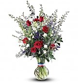 Flower Bouquets: Salute to a Patriot Bouquet