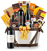 Premium Wine Baskets: Verite La Joie Cabernet Sauvignon Wine Basket - Martha's Vineyard