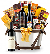 Premium Wine Baskets: Robert Mondavi Reserve Cabernet Sauvignon Wine Basket - Martha's Vineyard