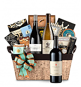 Premium Wine Baskets: Peter Michael Wine Basket - Cape Cod