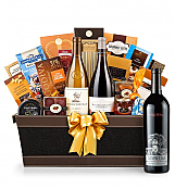 Premium Wine Baskets: Silver Oak 2009 - Cape Cod Luxury Wine Basket