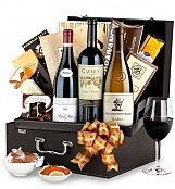 Luxury Wine Baskets: Winter Wishes Caymus Special Selection Wine Basket