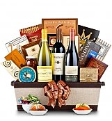 Luxury Wine Baskets: Luxury Wine & Gourmet Gift Basket