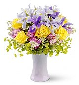Flower Bouquets: Lavender Sunrise Bouquet