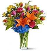 Flower Bouquets: Color Sensation Bouquet