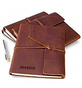 Personalized Keepsake Gifts: Fine Leather Journal with Free Embossing