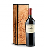 Wine Gift Boxes: Colgin Cellars Cariad Red Blend 2012 in Handcrafted Burlwood Box