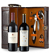 Wine Totes & Carriers: Verite La Joie 2006 Cabernet Sauvignon & Hundred Acre Few And Far Between Cabernet Sauvignon 2010 Connoisseur's Collection