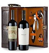 Wine Totes & Carriers:  Caymus Special Selection Cabernet Sauvignon 2011 and Merryvale Profile 2009 Connoisseur's Collection