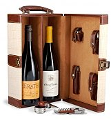 Wine Baskets: Fine Wine Tote with Your Choice of Wine