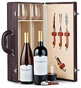 Wine Baskets: West Coast Wine Duet with Riedel Tumblers
