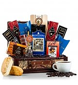 Coffee & Tea Gift Baskets: Coffee Lover's Gift Chest