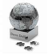 Personalized Keepsake Gifts: Magnetic Puzzle Globe