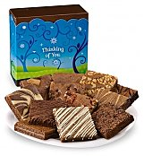 Cookie Gift Baskets: One Dozen Thinking Of You Brownies