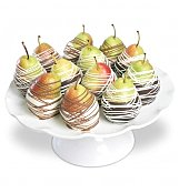 Fruit Gift Baskets: Chocolate Dipped Pears