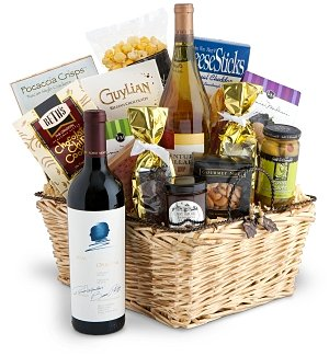 Opus One Wine Gift Basket