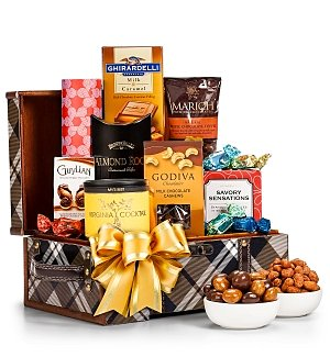 Gourmet Nuts & Chocolate Gift Chest