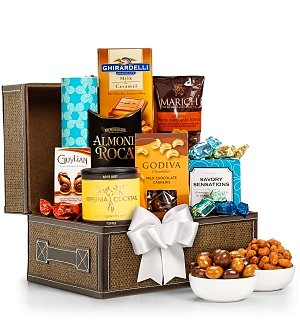 Gourmet Chocolate and Nuts Gift Chest