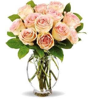 Pink Kisses Rose Bouquet
