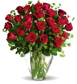 Two Dozen Red Rose Delight
