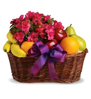 Fruits & Blooms Basket