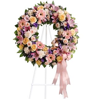 Graceful Wreath Bouquet