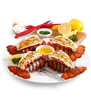 Gourmet Gift Baskets: Maine Lobster Tails