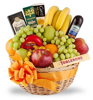 Elite Thank You Gourmet Fruit Basket