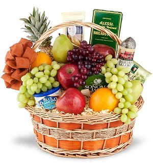 Royal Fruit and Gourmet Basket