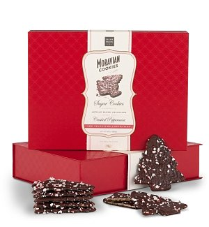Peppermint Christmas Cookie Gift Box