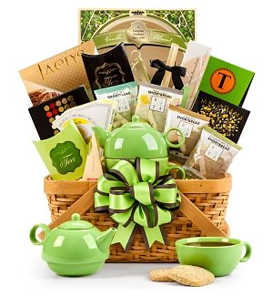 Traditional Teatime Basket