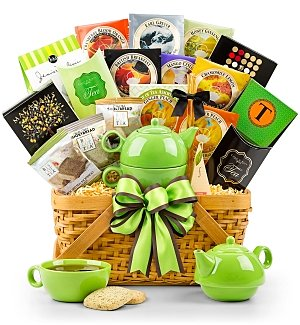 Traditional Teatime Holiday Basket