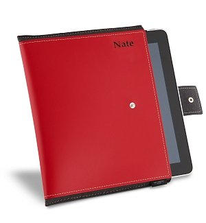 Italian Leather iPad Case with Free Embossing