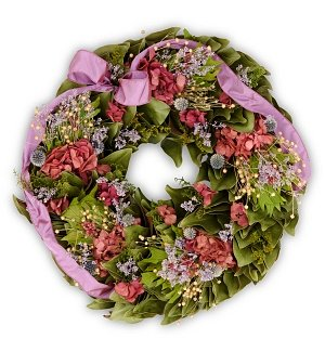 All-Natural Lavender & Magnolia Wreath
