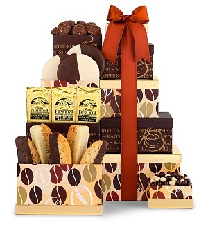 Coffee Time Gourmet Gift Tower