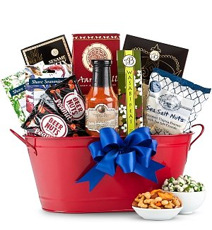 Father's Day Gourmet Grill Basket