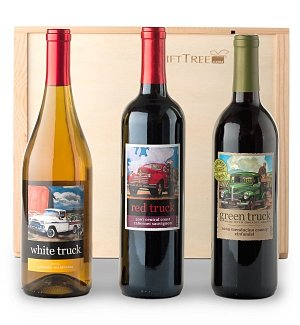 Red Truck Wine Trio