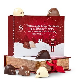 Night Before Christmas Gift Box with Chocolate Mice