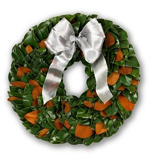 Fresh Holiday Magnolia Wreath
