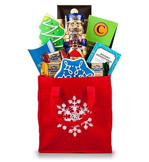 Season's Greetings Sweet Treats Tote