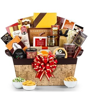 Epicurean Tasting Gift Basket